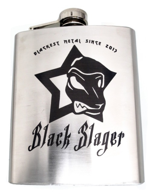 Black Slager hip flask
