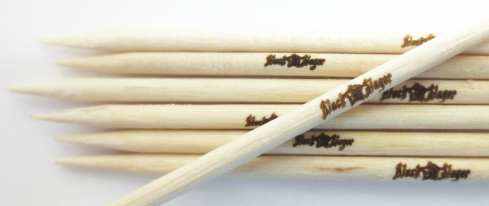 Black Slager toothpicks